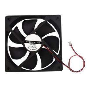 Best Black DC 12V 120*120*38mm PBT 3D Printing Cooling Fan 12038 wholesale
