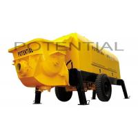 Cheap HBT80.13.130RS Truck Mounted Concrete Pump , Diesel Concrete Pump 13/8 Pumping Pressure for sale