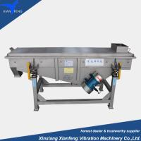 Best total stainless steel linear vibrating screen for separating pellet and particle wholesale