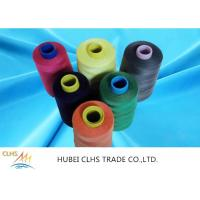 China Colours Roll 100 Spun Polyester Sewing Thread High Tenacity For Sewing Machine on sale