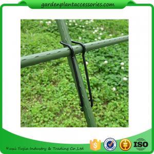 Best Black Garden Plant Accessories Wire  Buckle Gardening Cross Pillar Connecting Pieces wholesale