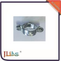 Quality Zinc Galvanized Pipe Clamp Fittings Single M6 Carbon Steel Pipe Clamp wholesale