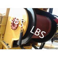 Best Single Drum Marine Anchor Winch Left And Right Rotation Direction Lebus / Helical Grooving wholesale
