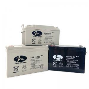 Best OEM ODM 12V90Ah Gel Or Lead Acid Battery 306*169*214mm Deep Cycle Gel Battery wholesale