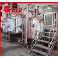Best 10BBL Industrial Beer Brewing Equipment For Bar , Craft Distillery Equipment wholesale
