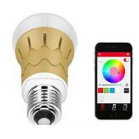 Cheap MR-Magic Bluetooth 4.0 Smart RGB Led Bulb Control by APP-Gold wholesale