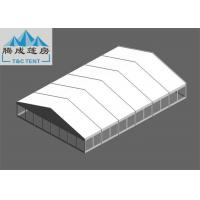 Best 20x30m Snowproof Flame Retardant White PVC Aluminium Alloy Tent With Clear / Sandwich Wall For Celebration wholesale