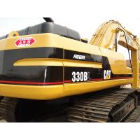Best CAT 330 Second Hand Excavators 750mm Shoe Size With 1.5m3 Bucket Capacity wholesale