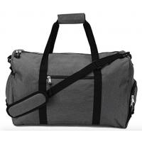 Best Custom Design Unisex Gym Duffel Bag With Pockets Blue / Black / White / Sliver Color wholesale