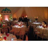 Best 10x30M Wedding Event Tents For Catering Guests Reinforced Aluminium Alloy Frame wholesale
