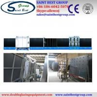 China Vertical Double Glazing Equipment , Fully Automatic Insulating Glass Machine / Production Line on sale