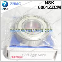 Best Japan NSK 6001ZZCM 12X28X8 mm Radial Deep Groove Ball Bearing wholesale