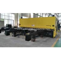 Best Hydraulic Metal Shear NC Hydraulic Sheet Metal Guillotine Shear With Feeding wholesale