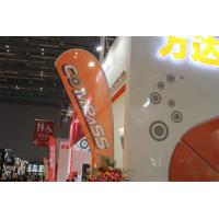 Best Interior / Outdoor Teardrop Banners 3kg Cross Feet With 360 Degree Turning Radius wholesale