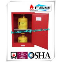 Best Durable Fireproof Paint Storage Lockers 12 Gallon For Combustible Liquid wholesale