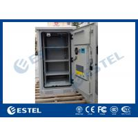 Best Weather Proof Galvanized Steel Outdoor Equipment Cabinet With Front Door and Rear Door wholesale