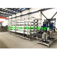Best Food Beverage Reverse Osmosis Water Treatment System SUS304 1T/H-100MT/H wholesale