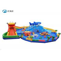 China Dragon Shark Commercial Grade Inflatable Water Slide Industrial Water Slide on sale