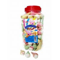Best Jar Packaging Snacks Ice Cream Shape  Fruity Flavor Marshmallow Candy ,  Customized Marshmallow Sweets And Soft wholesale