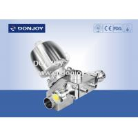 Buy cheap Type M-53 stainless steel multiport diaphragm with 3 control valve and 5 port from wholesalers
