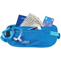 Best Small RFID Ladies Money Belt , Waterproof Money Bag With Adjustable Belt wholesale