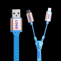 China Promotional gift zipper usb cable for samsung and iphone ,promotional micro usb cable for samsung,mobile phone on sale