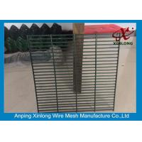 Best 358 Wire Mesh Security Fencing , Security Mesh Fence Free Sample wholesale