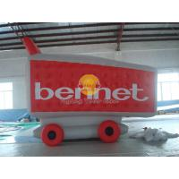 Best Waterproof Custom Shopping Cart Shaped Balloons with 0.18mm PVC for Outdoor Advertising wholesale