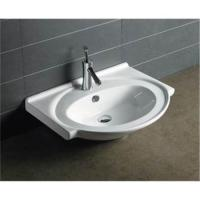 Best Eco friend best selling industrial bathroom Ceramic white color washing cabinet basin wholesale