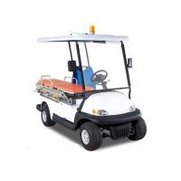 China White Custom Street Legal Golf Carts Two Seater For Ambulance CE Approved on sale