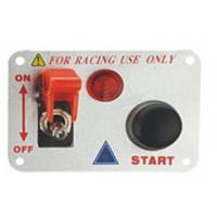 Best Automotive Racing Switch Panel With Flip Up Cover , Racing Toggle Switch wholesale