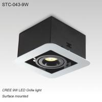 Best Indoor IP40 surface mounted square LED grille light for home decoration wholesale