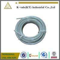 China High quality Transparent Plastic Coating Steel Wire Rope on sale