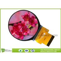 Best 480x480 Round LCD Display RGB Interface 2.1 Inch Active Area Diameter 53.28mm wholesale