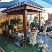 Best Durable Square Custom Made Gazebo Plastic Wood Composite Anti - UV Weather Resistant wholesale