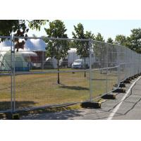 Best Removable Building Site Security Fencing Panels 1.8X2.1 Meter Comfortable Touch wholesale