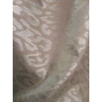 Cheap single side 100%silver fiber flower printed anti radiation fabric for sale