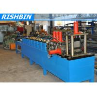 Quality Stud Track Channel Roll Forming Machine PLC Controlling System wholesale