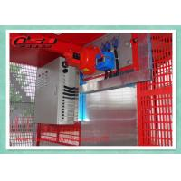 Quality 2000KG Capacity Personnel And Materials Hoist Double Cages 34m/Min Speed wholesale