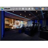 Best 18 Persons 5D Movie Theater With Special Effect System 3DOF Pneumatic Motion Chairs wholesale