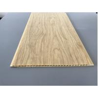 7.5mm Thick Corrosion Resistant PVC Wood Panels for Ceiling / Wall Cladding