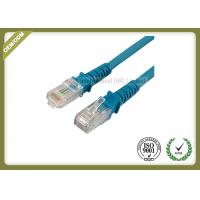 Best Exquisite Fashion Flat Cat5e Ethernet Patch Cable With Blue Special Connector wholesale
