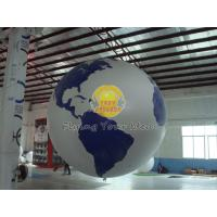 Best Reusable Round Earth Globe Balloons with 170mm tether points for Entertainment events wholesale