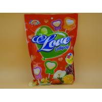 Best Heart Shape Lollipop Healthy Hard Candy / Carb Free Low Calorie Candy For Girl wholesale