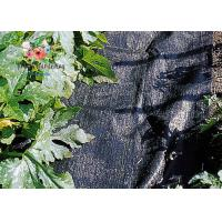 Best Black Garden Plant Accessories - Tear Proof Weed Block Fabric / Weed Control Fabric wholesale