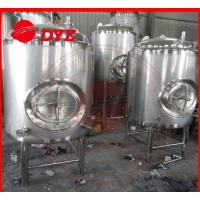 Cheap 5BBL Stainless Steel Bright Beer Tank For Brewery High Precision Material for sale