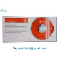 Best Genuine Microsoft Office 2016 Versions Product Key Optional Language With DVD wholesale