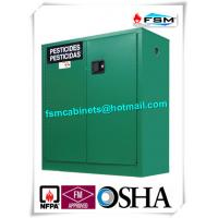 Best Safety Hazardous Storage Cabinets , Hazmat Storage Locker For Agriculture Pesticide wholesale