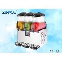 Best High Capacity 3 Tanks Frozen Drink Slush Machine Automatically Control CE Approved wholesale