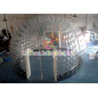 Best PVC Material Layer Clear Inflatable Airtight Tent Transparent Bubble Tent With Door wholesale